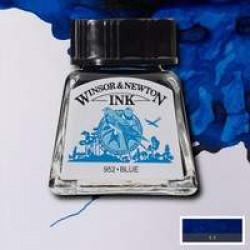 Тушь Winsor&Newton, Синий, 14 мл