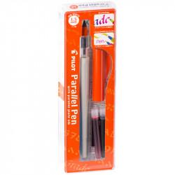 """Ручка перьевая для каллиграфии Pilot """"Parallel Pen"""", 1,5мм, 2 картриджа, пластик. уп."""