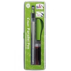 """Ручка перьевая для каллиграфии Pilot """"Parallel Pen"""", 3,8мм, 2 картриджа, пластик. уп."""