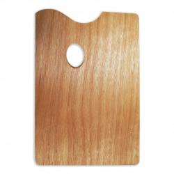 Прямоугольная деревянная палитра 20*30 см