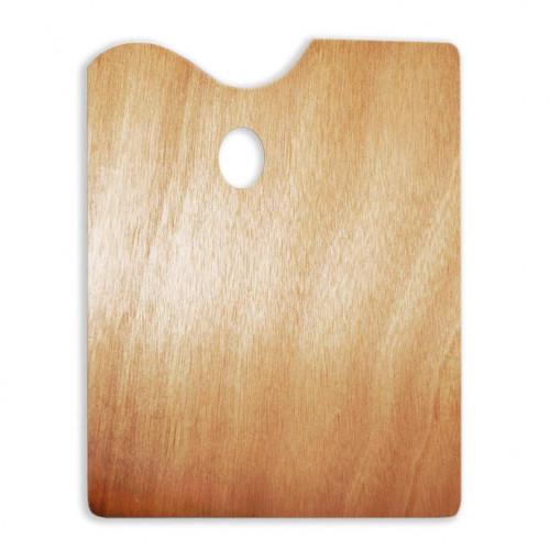 Прямоугольная деревянная палитра 30*40 см