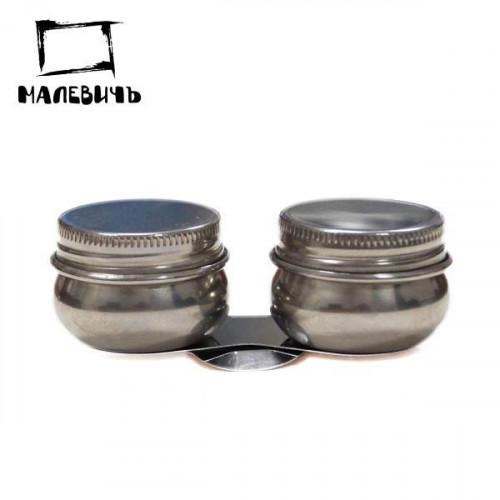 Масленка металлическая двойная, Малевичъ