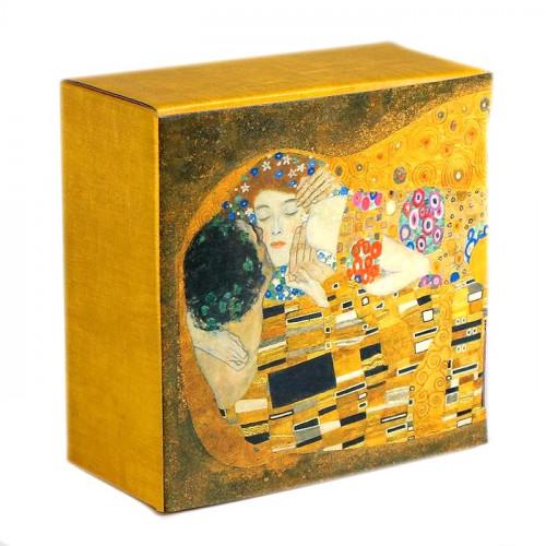 Коробка‒пенал «Поцелуй», 15x15x7 см