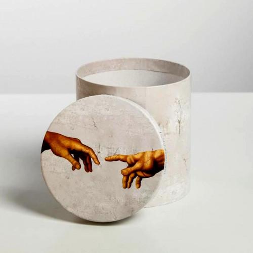 Коробка подарочная «Искусство» Микеланджело, 13x14 см
