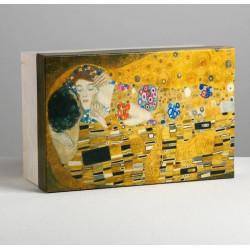 Коробка подарочная «Искусство», 26 х 17 х 10 см